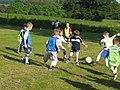 Boys Football at Kettins - geograph.org.uk - 79918.jpg