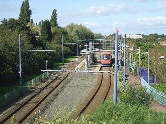 Bradley Lane tram stop - Bradley Lane tram stop