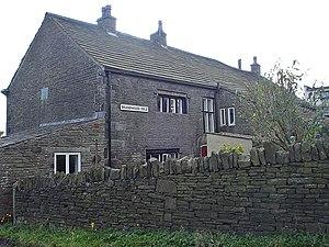 Grade II* listed buildings in Lancashire - Image: Brandwood Fold