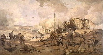Will Longstaff - Image: Breaking the hindenburg line
