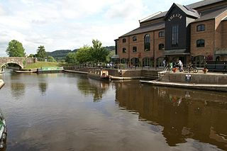 Theatr Brycheiniog theatre, arts and community centre in Brecon, Powys, Wales