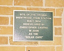 Photo of plaque number 30156