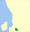 Bridgetown-greenbushes LGA WA.png