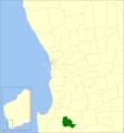 Bridgetown-greenbushes LGA WA.png