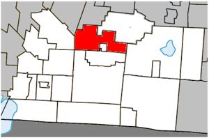 Brigham, Quebec - Image: Brigham Quebec location diagram
