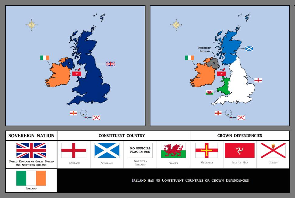 British Isles - UK & Ireland