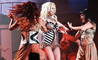 """Britney: Piece of Me - Spears performing """"Circus"""" at Piece of Me."""