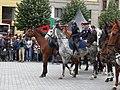 Brno, náměstí Svobody - mezinárodní policejní mistrovství ČR v jízdě na koni - příjezd a defilé soutěžních ekvip obr15.jpg