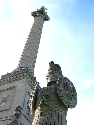 Brock's Monument - Image: Brock's Monument in 2010, Queenston, Ontario