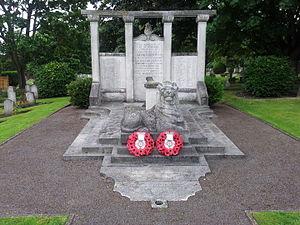 Richmond Cemetery - The Bromhead Memorial