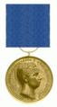 Bronzen Medaille van Verdienste van Friedrich Franz IV van Mecklenburg-Schwerin 1897 - 1918.png
