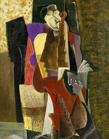Brooklyn Museum - The Cellist - Max Weber - ov...