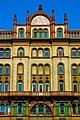 Brudern House, facade detail, 2013 Budapest, Inner City, 1056 Hungary - panoramio (12).jpg
