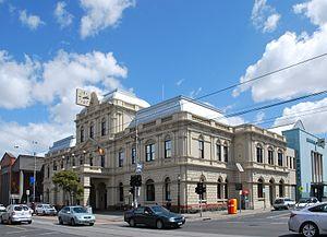Brunswick Town Hall - Brunswick Town Hall, main building along Sydney Rd.