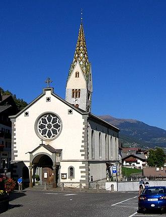 Barbian - Parish church of Saint James