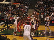 Bucks vs Bobcats - February 11th, 2006