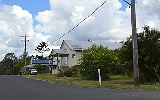 Builyan, Queensland - Pine St, Builyan; 2017