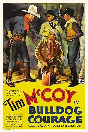 Bulldog Courage (1935 film) - Theatrical release poster