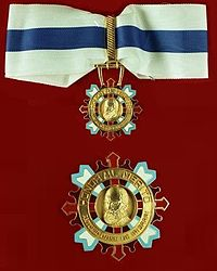 Jewel and star of a Grand Officer