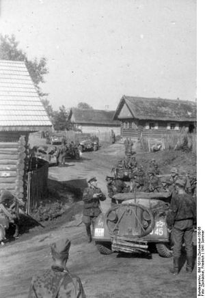 2nd SS Panzer Division Das Reich - USSR, 21 June 1941