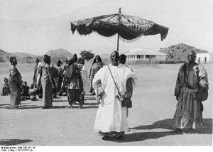 Mandara Kingdom - Sultan Bukar Afade c. 1911/15.