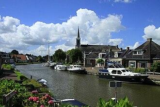 Ferwerderadiel - Canal through Burdaard