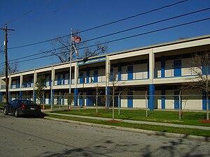 Independence Heights, Houston - Burrus Elementary School
