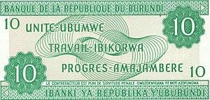 Burundian franc