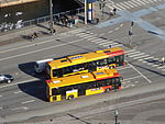 Buses seen from Christiansborg Palace 08.JPG
