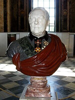 Auguste de Montferrand - Image: Bust of Auguste de Montferran