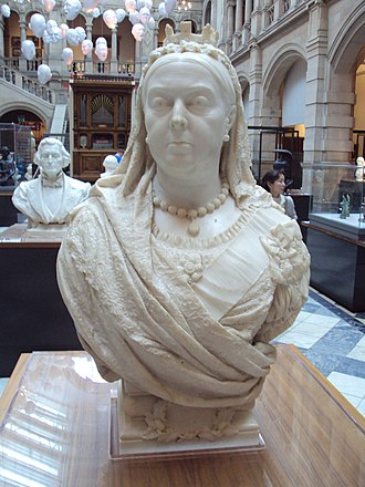 Francis John Williamson - The sculptor's bust of Queen Victoria