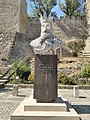Bust of Sancho I in the entrance of the Castle of Torres Novas.jpg