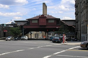 215th Street (IRT Broadway–Seventh Avenue Line) - Street level view