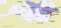 Byzantium vs Seljuk c 1071.png
