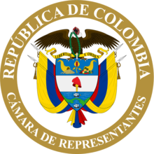 Description de l'image Cámara de Representantes de Colombia.png.