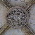 Cène sculptée pour une clef de voûte du porche de Saint-Germain-lAuxerrois 2010.jpg