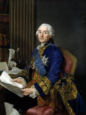 César Gabriel de Choiseul - César Gabriel de Choiseul, duc de Praslin, French diplomat and statesman