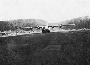 Battle of Kham Duc - This C-130 aircraft was photographed while airlifting supplies into Khâm Đức during April 1968; eventually the aircraft would play a major role in extracting all military and civilian personnel, as the area eventually succumbed to the North Vietnamese and VC forces later on.