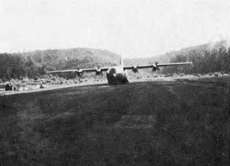 Battle of Kham Duc - This C-130 aircraft was photographed while airlifting supplies into Khâm Đức during April 1968; eventually the aircraft would play a major role in extracting all military and civilian personnel
