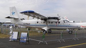 Viking Air - DHC-6 Series 400 on display at the 2010 Farnborough Airshow