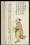 C19 Chinese MS moxibustion point chart; Huantiao Wellcome L0039496.jpg