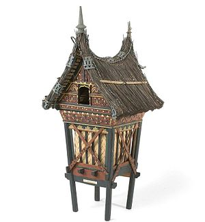 Rangkiang - A model of a rangkiang