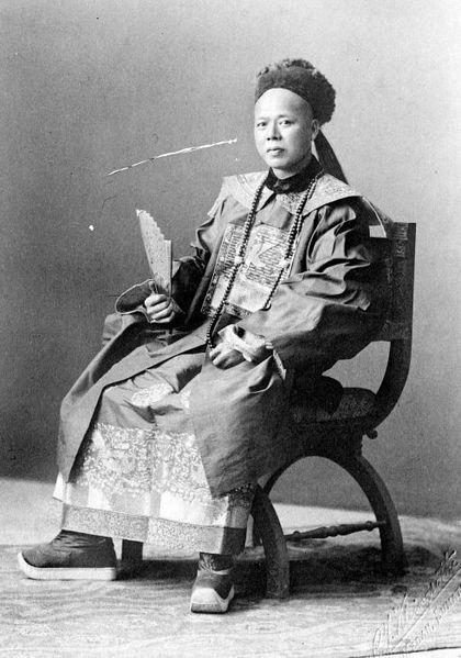 Foto Tjong A Fie, Medan pada September 1910 Koleksi Tropenmuseum