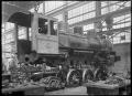 C class 2-6-2 steam locomotive, New Zealand Railways no 851, under construction at Hutt Railway Workshops, Woburn. ATLIB 290089.png