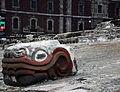 Cabeza de Quetzalcoatl en Templo Mayor.JPG