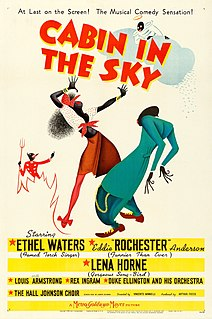 <i>Cabin in the Sky</i> (film) 1943 American musical film with an all-Black cast, directed by Vincente Minnelli
