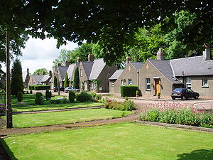 Glenrothes - Cadham Village conservation area, built pre-Glenrothes