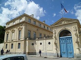 Calvados (department) - Prefecture building of the Calvados department, in Caen