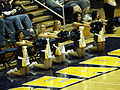 Cal Dance Team at 2008 Golden Bear Classic championship game 3.JPG