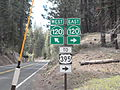 California State Route 120 Markers at Yosemite National Park.jpg